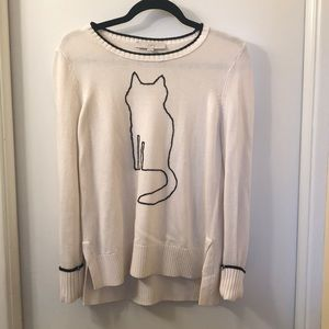 LOFT Cat Sweater
